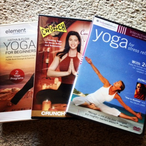 Slim calm sexy yoga dvd